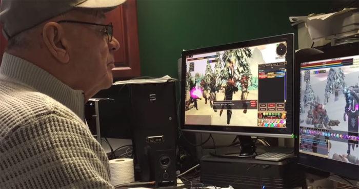 Un grand-père de 74 ans fait ses adieux à son jeu préféré auquel il jouait depuis maintenant 17 ans!