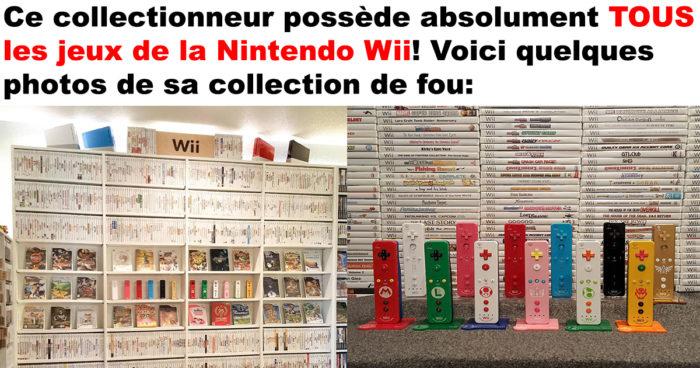 La collection complète de TOUS les jeux sur Wii!