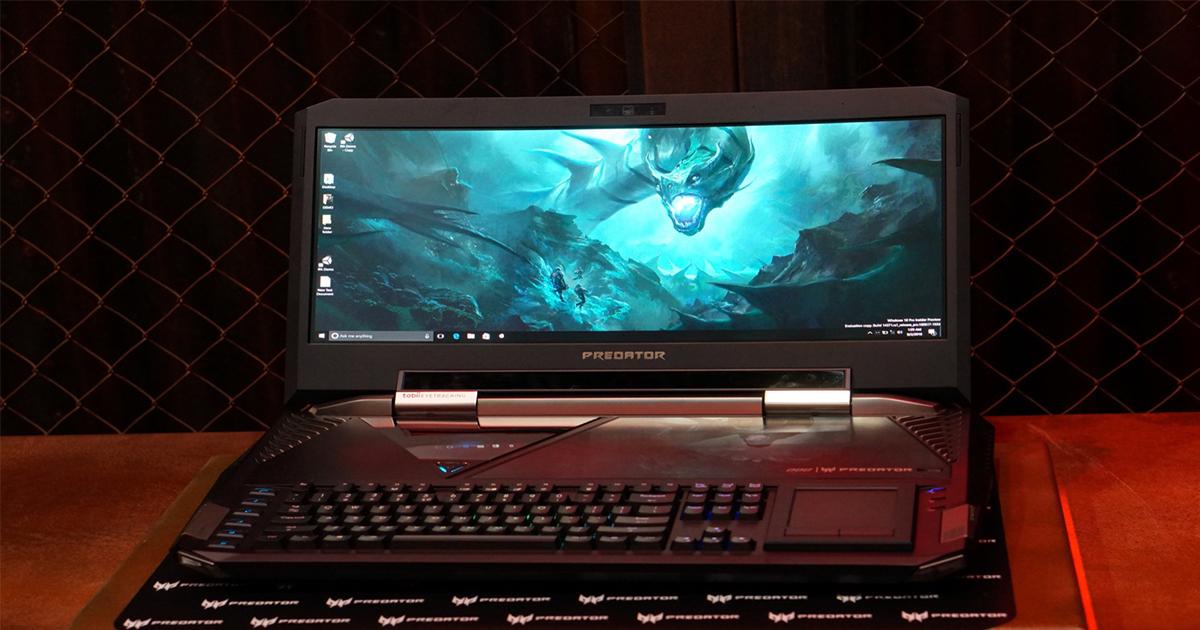 acer predator 21 x voici le portable gaming le plus cher au monde. Black Bedroom Furniture Sets. Home Design Ideas