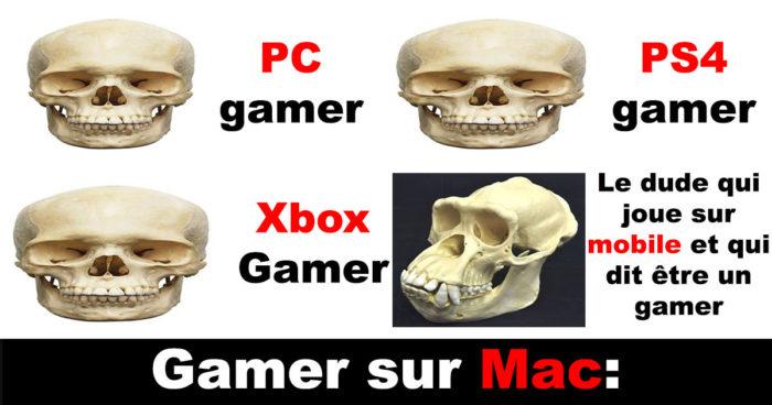 Les gamers sur Mac…