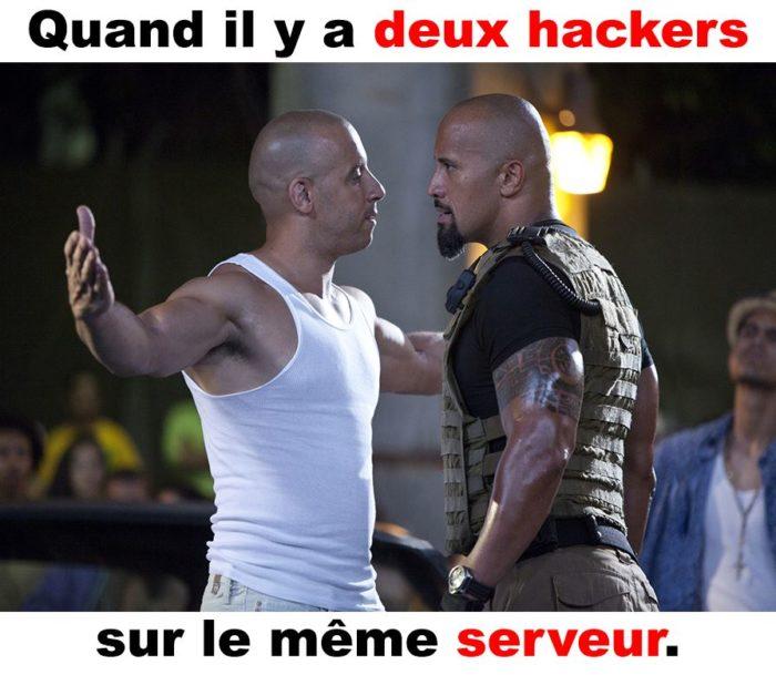 Quand il y a deux hackers