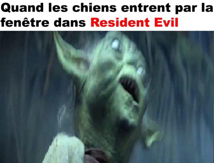 Ce moment dans Resident Evil