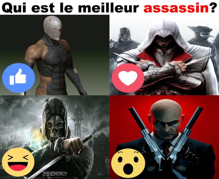 Qui est le meilleur assassin?