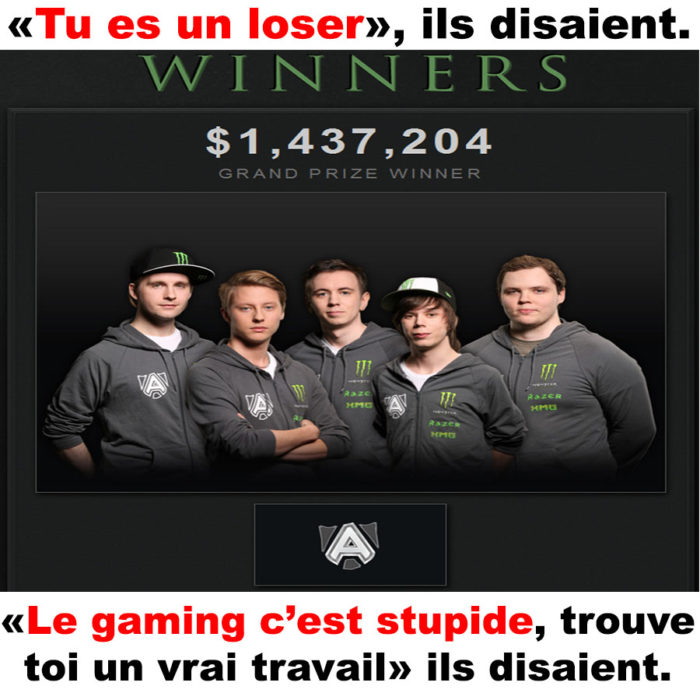Le gaming <3