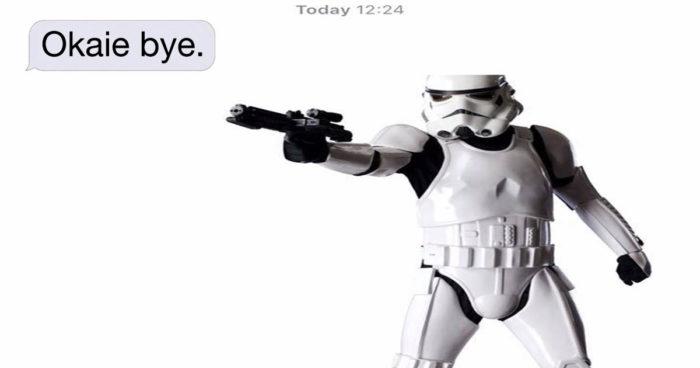 Un fan de Star Wars et son ex