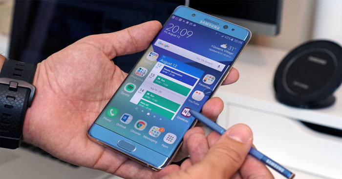 Après les explosions, le Galaxy Note 7 vient d'annoncer son grand retour!
