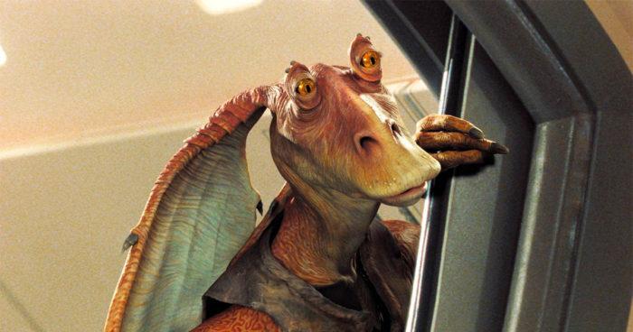 Jar Jar Binks  est de retour dans l'univers de Star Wars!