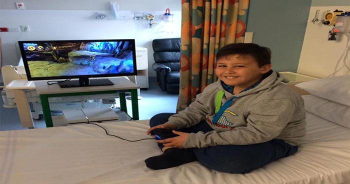Un voleur a volé une PS4 dans un centre pour enfants atteints du cancer!