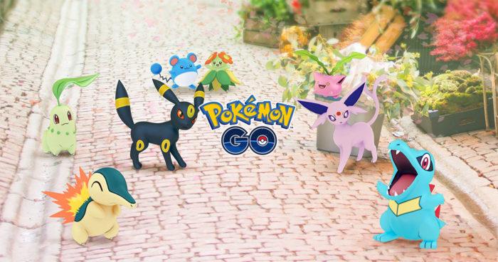 Pokémon Go: 80 nouveaux Pokémons et de nombreuses nouveautés!