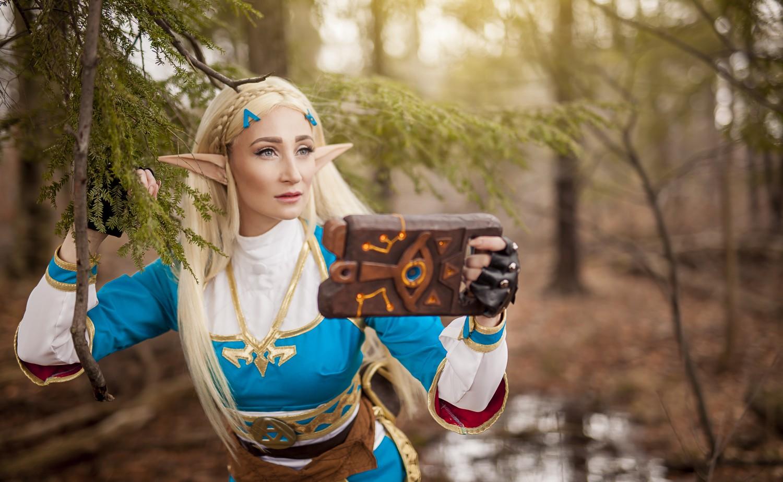 Un magnifique cosplay de la princesse zelda - La princesse zelda ...