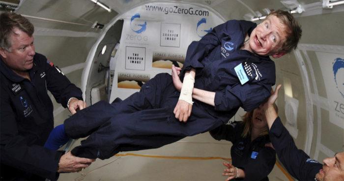 Le physicien Stephen Hawking va réaliser l'un de ses plus grands rêves!