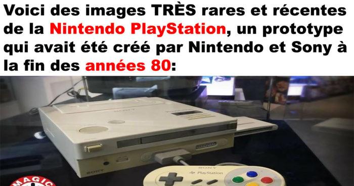 La Nintendo PlayStation