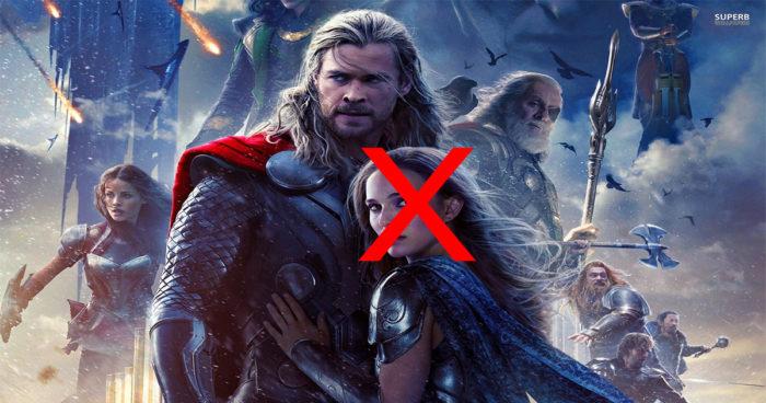 Thor Ragnarok: Le président de Marvel explique l'absence de Jane Foster (la blonde de Thor)!