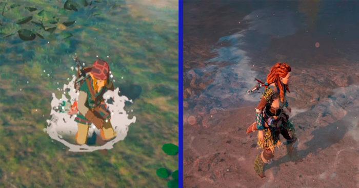 Une vidéo qui compare les détails de Zelda: Breath of the Wild et de Horizon Zero Dawn!