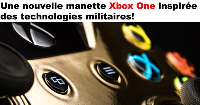 La nouvelle manette Xbox One «Recon»!