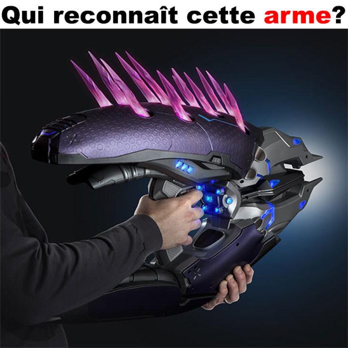 Qui reconnaît cette arme?