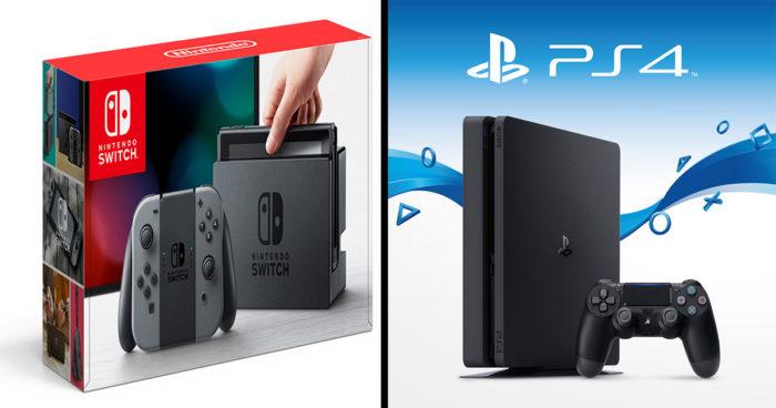 Sony a baissé le prix de la PS4 Slim pour le lancement de la Nintendo Switch!
