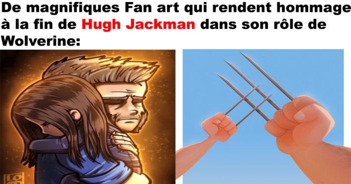 De magnifiques Fan art de Wolverine