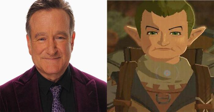 Zelda: Breath of the Wild: Robin Williams aurait son personnage dans le jeu!