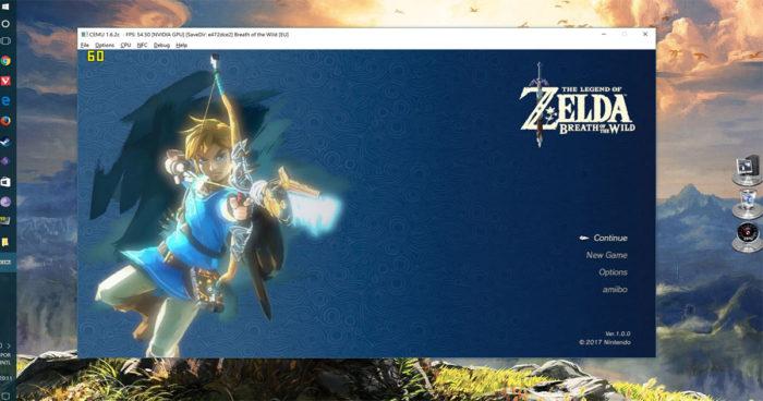 Zelda: Breath of the Wild est déjà disponible sur PC grâce à un émulateur Wii U!