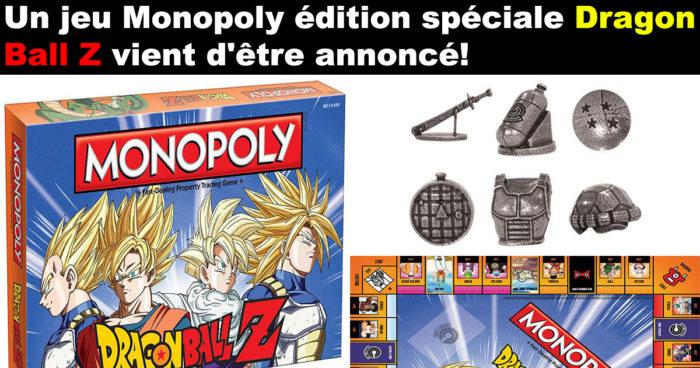 Un jeu Monopoly Dragon Ball Z!