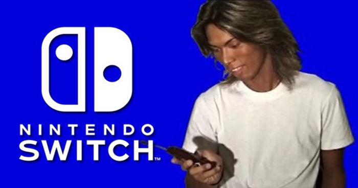 Nintendo Switch: Un acteur de porno gay a été aperçu dans le menu de la console!
