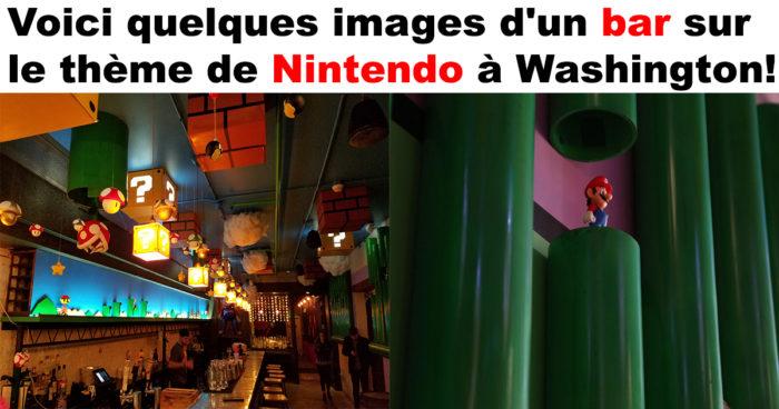 Le bar Nintendo à Washington
