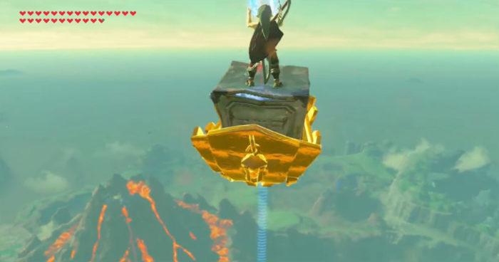 Zelda: Voici le résultat quand un joueur atteint le point le plus haut du jeu!