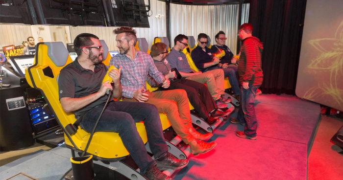 Triotech: Une expérience d'apocalypse de zombies en 7D créée à Montréal!