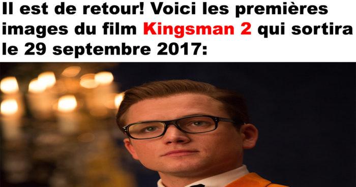 Les premières images de Kingsman 2!