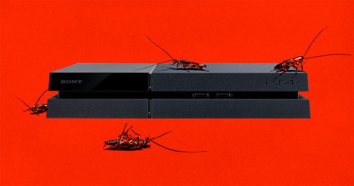 Voici pourquoi les insectes adorent les PS4!