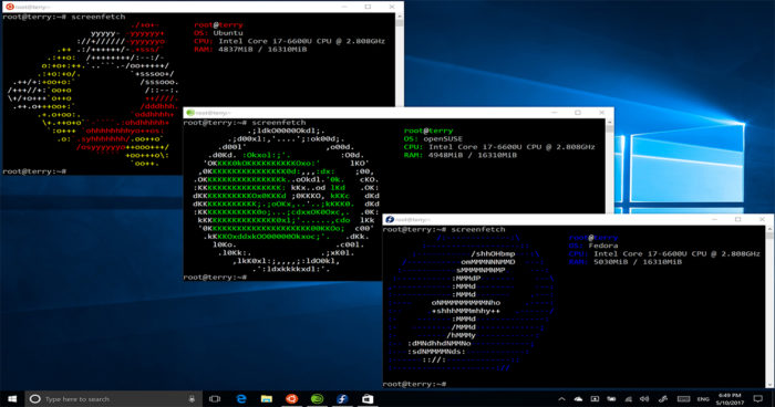 Linux sera bientôt disponible sur Windows 10!