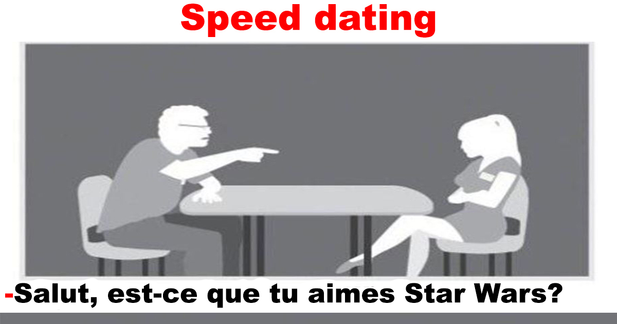 Speed dating hacked