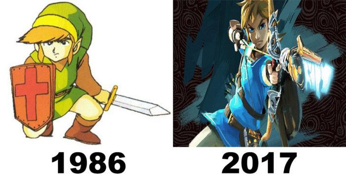 L'évolution des artworks de jeu vidéo à travers les années