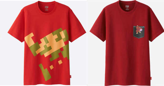 Une nouvelle collection de vêtements Nintendo!