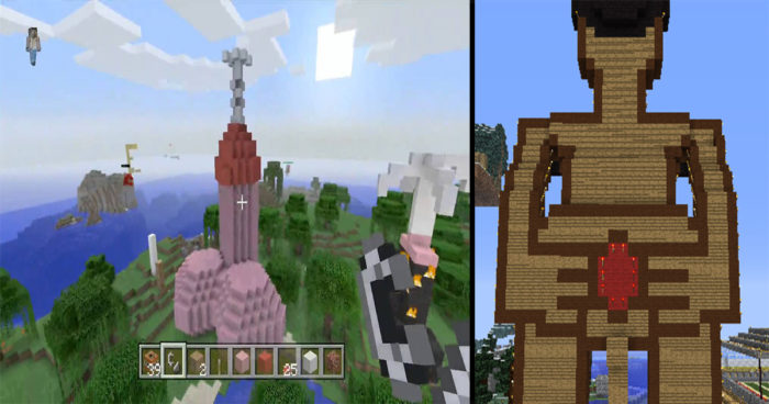 20 créations très vulgaires sur Minecraft