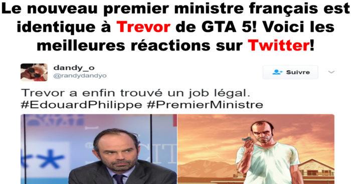 Le nouveau premier ministre français est identique à Trevor de GTA 5!