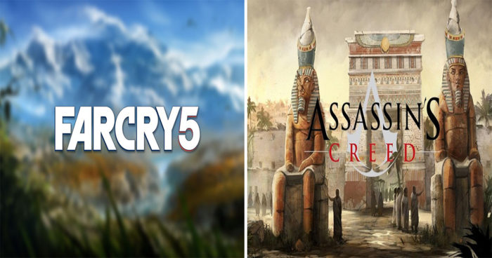 Assassin's Creed, Far Cry 5, The Crew 2: Ubisoft parle de leurs dates de sortie!