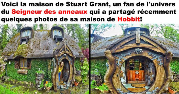 Un fan intense du Seigneur des anneaux s'est construit sa propre maison de Hobbit!
