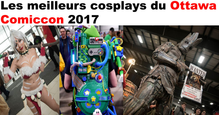 28 cosplays du Ottawa Comiccon 2017