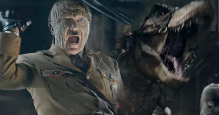 Adolf Hitler se promène en T. Rex dans la bande-annonce d'un nouveau film!