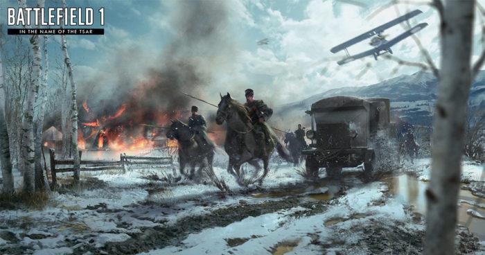 E3 2017: Battlefield 1 dévoile l'armée Russe sur le multi!
