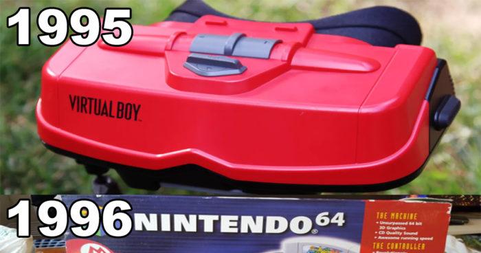 Les présentations de Nintendo à l'E3 à travers les années!