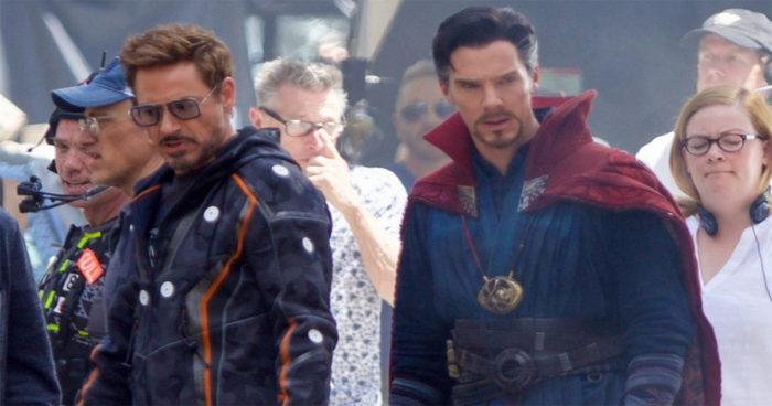 Avengers Infinity War: Voici les 14 premières photos du tournage!