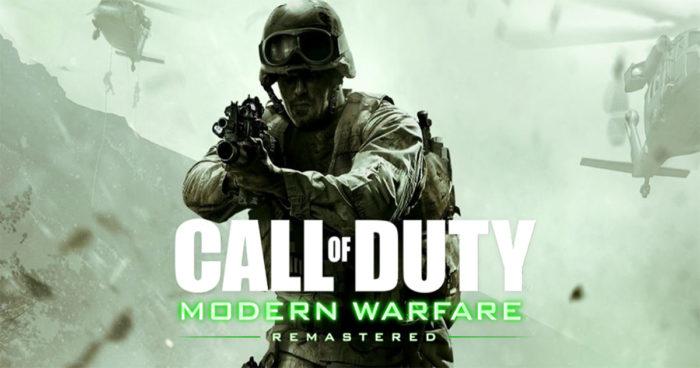 Call of Duty: Modern Warfare Remastered sera bientôt vendu individuellement!