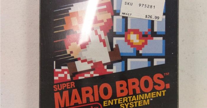 Super Mario Bros sur NES s'est vendu 35 000 dollars!