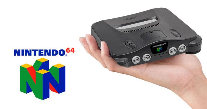 Nintendo dépose la manette de la Nintendo 64, une mini console pour 2018?