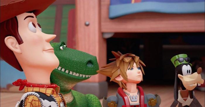Kingdom Hearts III: Le monde de Toy Story dévoilé dans un nouveau trailer!