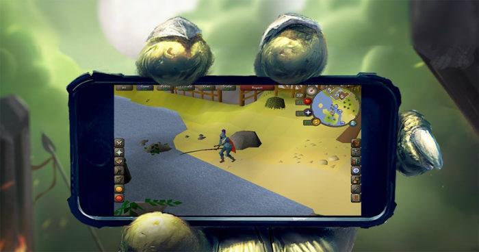 RuneScape sera bientôt disponible sur mobile!