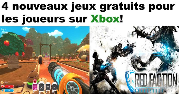 Xbox Live: La liste des jeux gratuits d'août 2017!